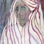 Porträt Sophia, 2012,  70x50cm Acryl auf Hartfaserplatte
