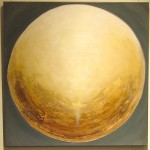 2013, Gold auf Leinwand 90x90 cm