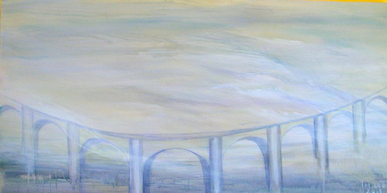 2013, Acryl auf Leinwand, 80 x 120 cm