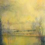 Traumlandschaft, 2012, Acryl auf Leinwand, 90 x 60 cm