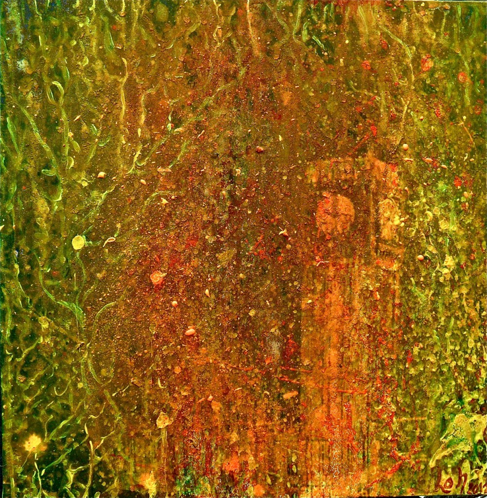 Die Quadriserie = Monumentale Auflösung = Big Ben, 2012, 50 x 50 cm2012,