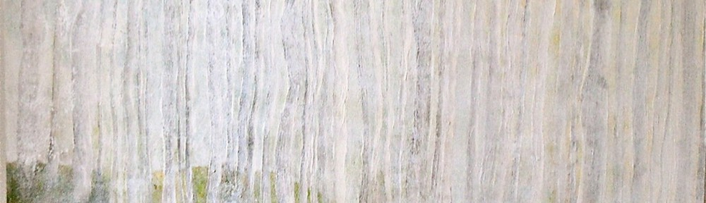 Birkenwald - 2012 - 120 x 120 cm, Acryl auf Hartfaserplatte